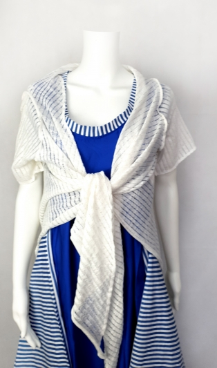 Summer white fine knit cardigan NOT AVAILABLE
