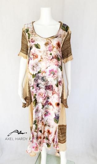 Флорална мулти макси рокля