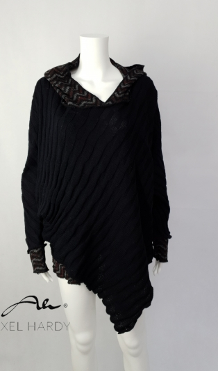 Poncho/blouse warm and cosy