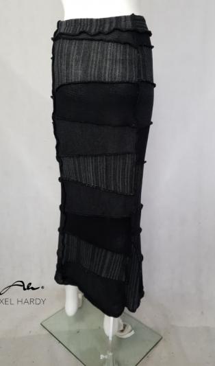Зимна топла плетена пола