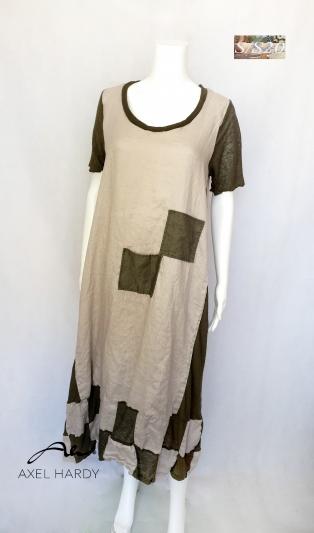 Linen funky dress Sissi