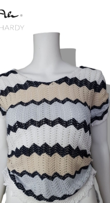 Зиг-заг блуза