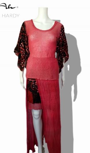 Много функционален комплект от блуза и пола Магнолия виж варианти на обличани в арт. АН 975 НЕ Е НАЛИЧЕН