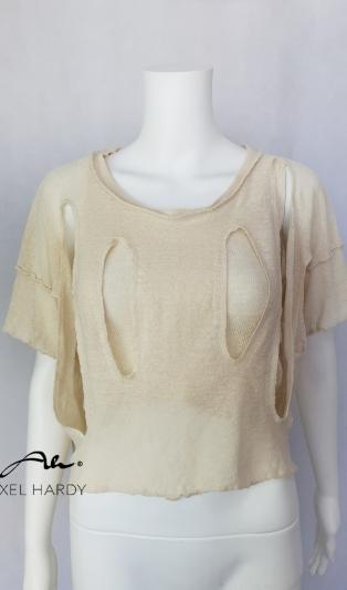 Ленена блуза в 2 части