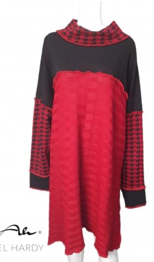 Моден топъл овърсайз блузон