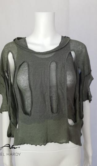Ленена блуза в 2 части НЕ Е НАЛИЧНА