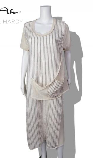 Макси фънки рокля Комфорт с джоб