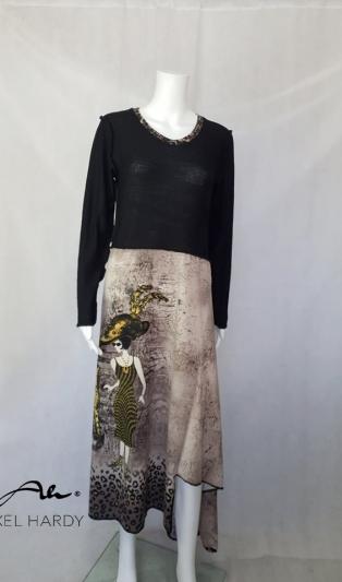 Модна рокля в леопардов принт