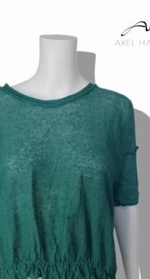 Ленена плетена блуза с набор НЕ Е НАЛИЧНА В МОМЕНТА