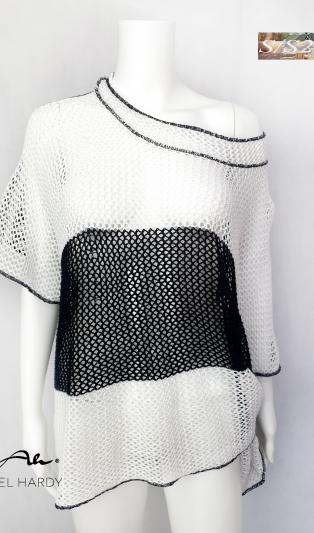 Мрежеста мулти блуза