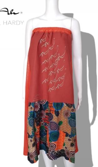 Пъстра лека пола  в бохемски и етно стил