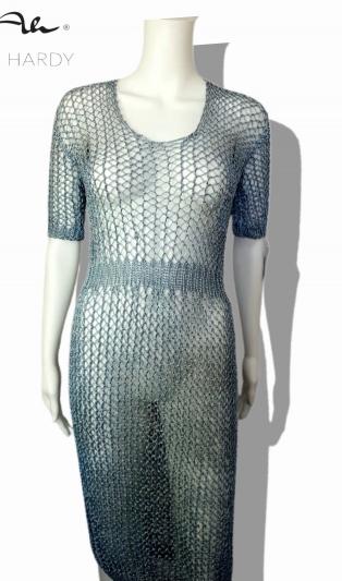 Скалиста ръчно плетена  рокля