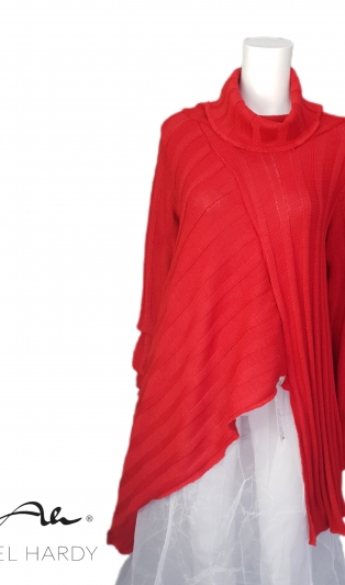 Икона блуза Тео налична в два цвята : 006-червено и 099 черно