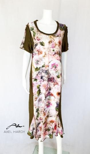 Флорална бохо рокля
