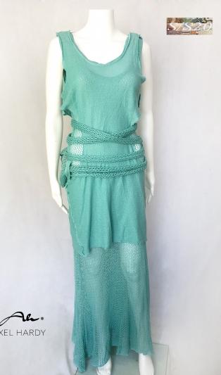 Мрежеста авангардна рокля