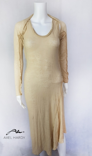 Лятна ленена рокля с болеро