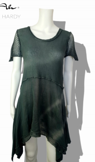 Funky T&D tunic/dress in stone Gnais color