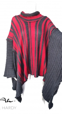 Пончо фънки стил с много начини на обличане