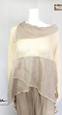Фънки ленена блуза