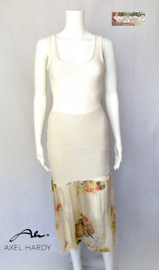 Soya and pure silk shaping dress