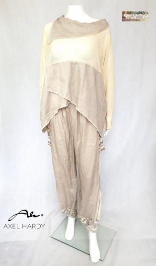 Фънки ленен панталон