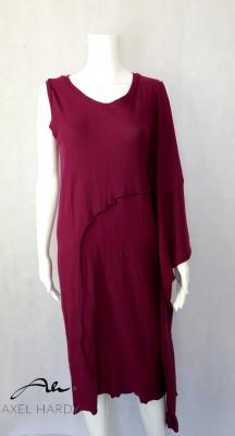 Многофункционална рокля в цвят фуксия