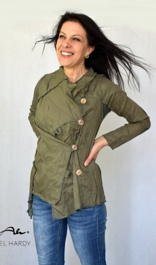 Art linen jacket NOT AVAILABLE, but you can find in other colors