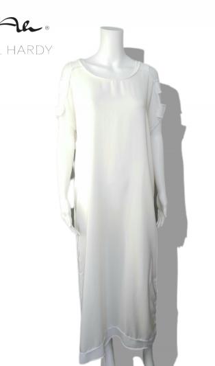 Стилна рокля роба от естествена коприна НЕ Е НАЛИЧНА