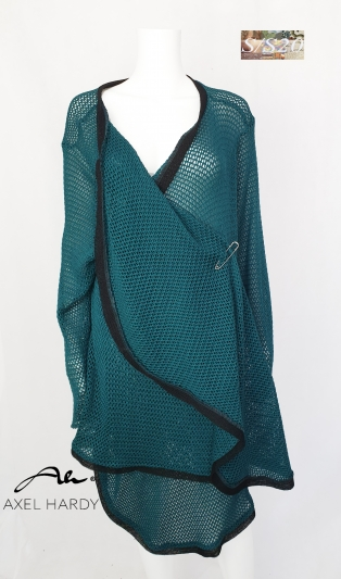 Chic mesh knit coat NOT AVAILABLE