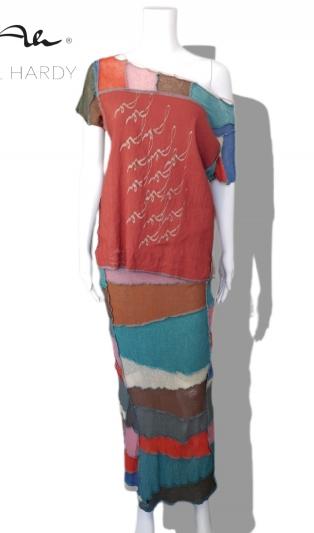 Лого ленена рустик блуза