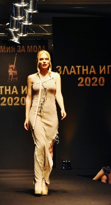 Коктейлна лого  рокля
