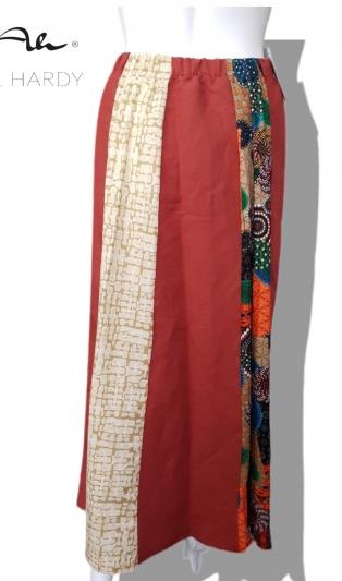 Пъстра лека пола ветрило в бохемски и етно стил