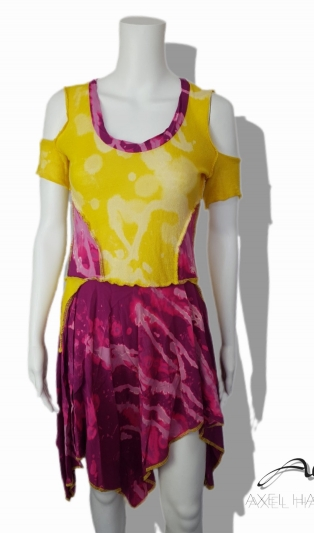 Happy colored summer dress