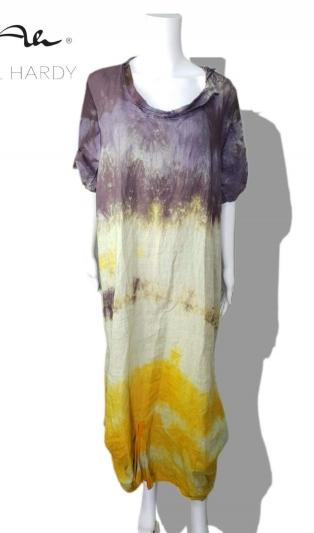 Макси фънки рокля Комфорт от чист коноп НЕ Е НАЛИЧНА