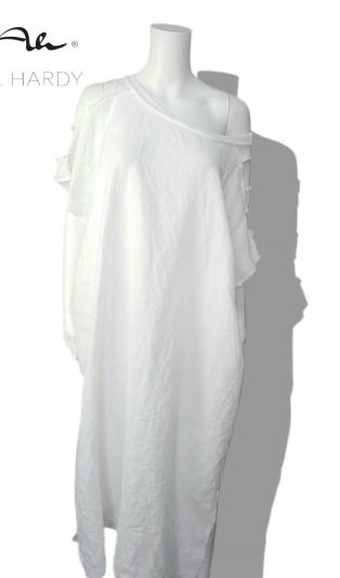 Макси фънки рокля Комфорт от чист коноп
