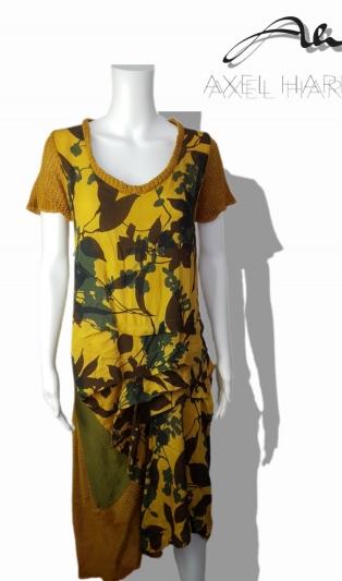 Batik unique dress