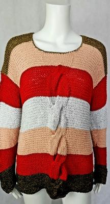 Hand knitted BOHO jumper