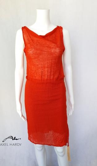 Лятна коралова рокля в 2 части НЕ Е НАЛИЧНА