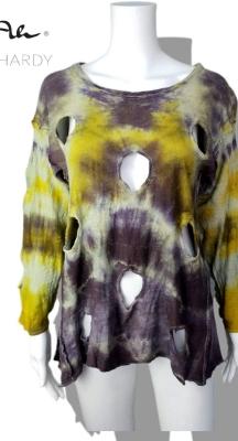Батик фънки блуза на дупки